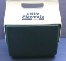 LITTLE PLAYMATE by IGLOO Green White Cooler Old School Rare!