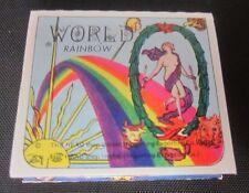 70s WORLD Rainbow CIGARETTE Rolling PAPER SPAIN Clown Sun Star Vtg Head Shop