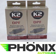 2x K2 Filtros de Partículas Diesel Limpiador DPF Partículas Filtro 50ml