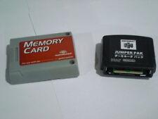 Nintendo 64 Jumper Pak w/ Memory Card