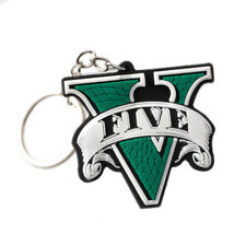 Games Grand Theft Auto V GTA 5 Key Chain rare Key Ring Metal PS3 PS4 Xbox One