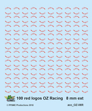 [FFSMC Productions] OZ Racing Markings Red 8 mm (diam. ext.) (x 100)