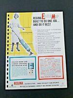 Vintage REGINA ELECTRIK MOP 1962 Pages from Manar Sales Catalog