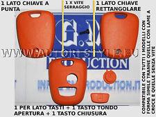 COVER GUSCIO ARANCIONE PER CHIAVE TELECOMANDO 2 TASTO CITROEN C1 C2 C3