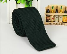 Men's Atrovirens Tie Knit Knitted Tie Necktie Narrow Slim Skinny Woven ZZLD921