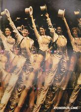 A Chorus Line Souvenir Program 1981 New York Shakespeare Festival