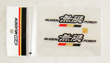 4 INCH JDM MUGEN POWER DECAL / STICKERS BLACK COLOR MADE IN JAPAN HONDA ACURA
