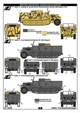 CMK Special Armour SA72004 1/72 Resin WWII German SdKfz 11/2 Nebelkraftwagen