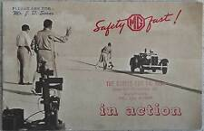 MG TC  TD c1952/3 Goldie Gardner Salt Flats Racing promotional brochure