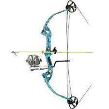 PSE ARCHERY DISCOVERY FISHING BOW PACKAGE 40LB. LH DK'D CAMO!! FREE SHIPPING!!