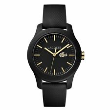 Lacoste 2000959 Men's Plastic Black Quartz Watch