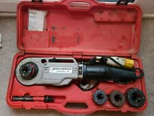 Rothenberger Supertronic 2000 Portable Power Pipe Threader With Dies 110V