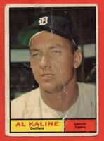 1961 Topps #429 Al Kaline LOW GRADE SCRATCHES HOF Detroit Tigers FREE SHIPPING