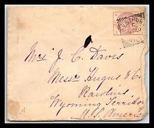 GP GOLDPATH: GREAT BRITAIN COVER 1881 _CV588_P17