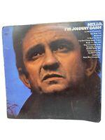 Johhny Cash - Hello I'm Johnny Cash - Columbia Vinyl Record Vintage