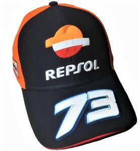 Cap Baseball Hat Repsol Dual Honda Alex Marquez 73 MotoGP Adult Bike Navy AU