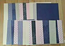 """Lap of Luxury, 21 Sheets, Stampin' Up! DPS 12 x 12"""" full sheets, view photo"""