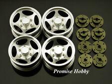 Clearanc- 5S aluminum wheel rim set for 1/10 rc cars crawler 4pcs