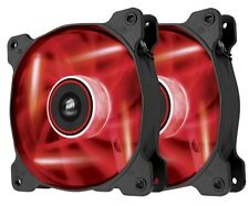 Corsair Air Series SP120 High Static Pressure Fan (120mm) with Red LED (Twin