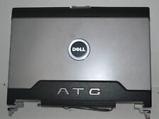 """Genuine Dell Latitude D620 D630 ATG 14.1"""" LCD Back Cover Lid With Hinges KN769"""