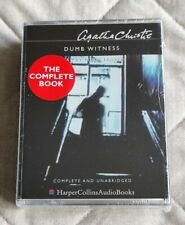 Agatha Christie: AUDIO BOOK CASSETTE TAPE - Dumb Witness new and sealed.