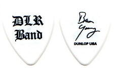 David Lee Roth Band Guitar Pick : 2002 Tour Dlr Brian Young Van Halen white
