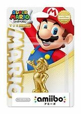 Nintendo Amiibo Gold Mario Japanese Ver Super Smash Bros Figure 3ds Wii U Japan