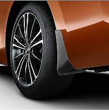 Genuine Toyota GT86 2012-15 Mudflaps 4 Front And Rear Mud Flaps Pu060-18013-P1