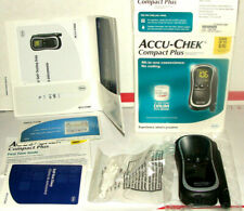 Accu-Chek Compact Plus Blood Glucose Monitoring meter System *SOLD AS USED*