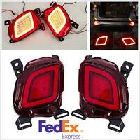 For Toyota Highlander 15-19 2X LED Fog Light Tail/Bumper/Brake/Driving Light -US