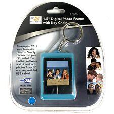 "Brand New & Sealed Dolphin 1.5"" Digital Photo Frame w/ Key Chain - Up to 54 Pics"