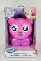 New Playgro Goodnight Bear Night Light And Projector, Pink Baby Child Toddler
