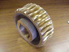 Brass Worm Gear for Braden LU4 MU2 Winch 18014 MU101R NOS
