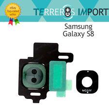Lente negro embellecedor Camara trasera para Samsung Galaxy S8 G950f