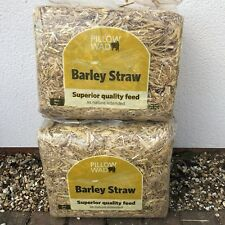 2x Barley Straw Bedding Rabbit Guinea Pig Rat Hamster Generates Heat Hand Picked