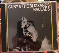 Cuby & The Blizzards Cd ~ Ballads Cdls 8801 ~ Universe Productions © 1988