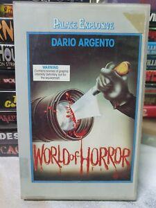 World of Horror VHS video Tape Movie HORROR PAL