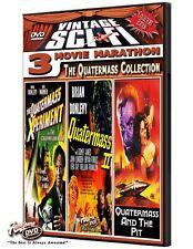 Vintage Sci-Fi - The Quatermass Xperiment - Quatermass Ii - Quatermass & The Pit