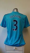 West Bromwich Albion Away Football Shirt Jersey 2011-2012 OLSSON 3 XL