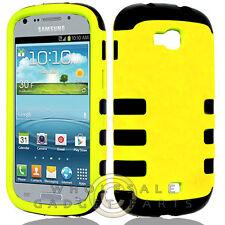 Samsung R830 Axiom Hybrid Case-Yellow Cover Shell Protector Guard Shield Case