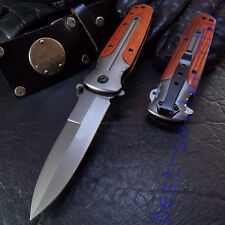 Strong Assisted Opening BRN Knife High Quality Tactical Pocket Liner lock Saber