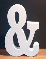 Large wooden ampersand & sign