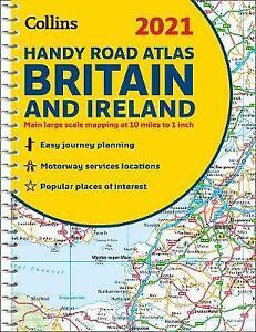 GB Road Atlas Britain 2021 Handy, Collins Maps,