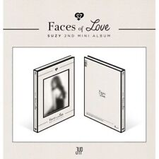 Suzy-[Faces Of Love] 2nd Mini Album CD+96p FotoBuch+Post+FotoKarten K-POP Sealed