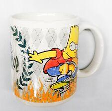 Simpsons Tasse Mug Bart Simpson Skater Weiß Kaffeebecher 320 ml