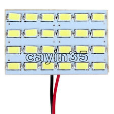 LED 12v 3w 24 SMD 5730 Light Panel Board Car Dome Interior Reading Lamp Buld