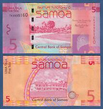 SAMOA  5 Tala (2014) UNC  P. 38 b