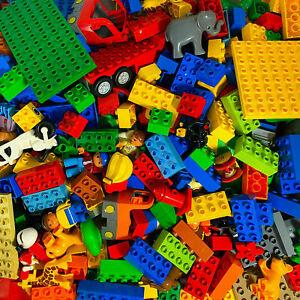 LEGO® DUPLO - Bausteine, Grundplatten, Fahrzeuge usw. - 50 bis 1.000 Teile!