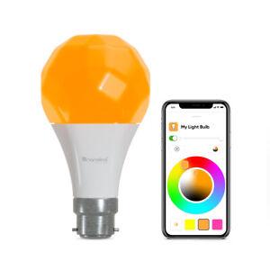 Nanoleaf Essentials Light Bulb LED Smart Lighting A60 Colour Changing Dimmable