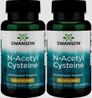 200 Caps Swanson NAC N-Acetyl Cysteine 600mg Liver Health Antioxidant